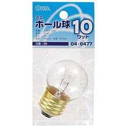 電球 ミニボール球 LB-G4610-C クリア [E26 /電球色 /1個 /ボール電球形]