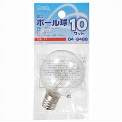 電球 ミニボール球 LB-G5710-C クリア [E17 /電球色 /1個 /ボール電球形]