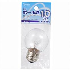 電球 ミニボール球 LB-G5610-C クリア [E26 /電球色 /1個 /ボール電球形]