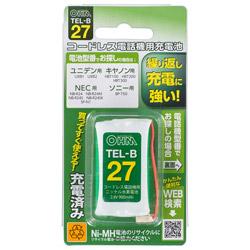 コードレス電話機用充電池 長持ちタイプ TEL-B27