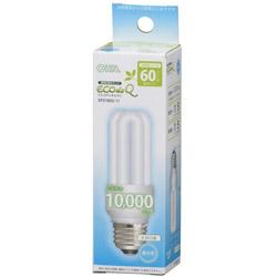 電球形蛍光灯 D形 E26 60形相当 昼光色 EFD15ED/11