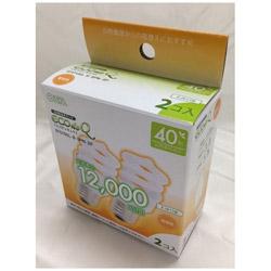 電球型蛍光灯 スパイラル 40Wタイプ E26 2P EFD10EL8SPN2P 電球色