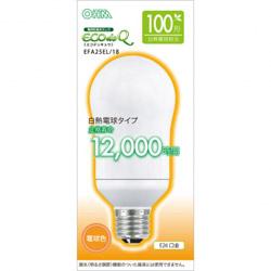 エコ電球100WタイプE26電球色 EFA25EL18