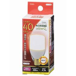 LED電球 (T形・全光束466lm/電球色相当・口金E17) LDT4LGE17 IS9