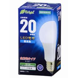 LED電球 (一般電球形・全光束220lm/昼光色相当・口金E26) LDA2DGAG22