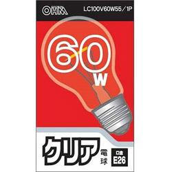 LC100V60W55/1P 白熱電球