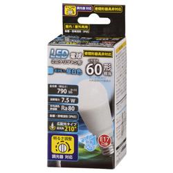 LED電球 ミニクリプトン形 E17 60形相当 昼白色 防雨タイプ LDA8N-G-E17/DH11