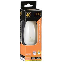 LED電球 LDC4L W6 ホワイト [E26 /電球色 /1個 /40W相当 /シャンデリア電球形 /全方向タイプ]