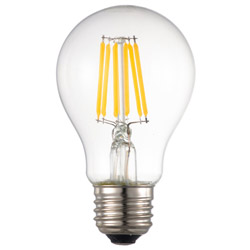 LED電球 フィラメント E26 60形相当 調光器対応 LDA6L/DC6