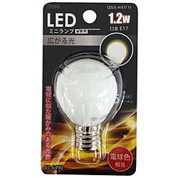 LED電球 装飾用 ミニランプ[口金E17 /電球色 /45ルーメン] LDS1L-H-E17 11