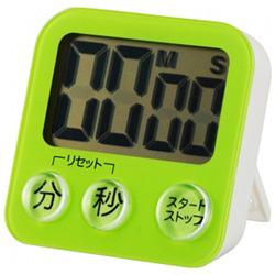 大画面デジタルタイマー COK-T130-G グリーン