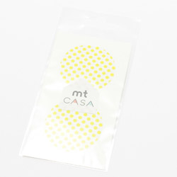 MTCDS008 mt casa seal ドット・萌黄[生産完了品 在庫限り]