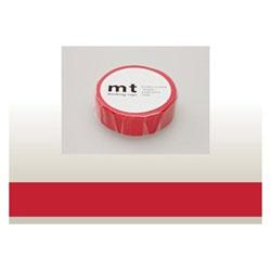 mt マスキングテープ(レッド) MT01P181