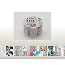 mt ex マスキングテープ(英字新聞) MTEX1P75
