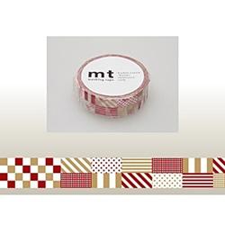 mt マスキングテープ(ミックス・レッド) MT01D121