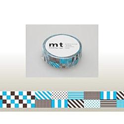 mt マスキングテープ(ミックス・ブルー) MT01D122