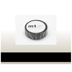 mt マスキングテープ(マットブラック) MT01P207