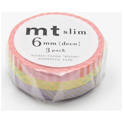MTSLIM16 6mm×10m 3P mt slim deco A