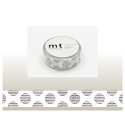 mt マスキングテープ(mt1P手描きドット・モノクロ) MT01D224