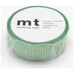 mt マスキングテープ 1P(方眼・くさ) MT01D265[生産完了品 在庫限り]