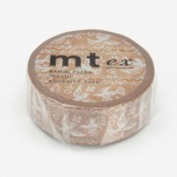 mt ex マスキングテープ(レース・鳥) MTEX1P106