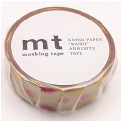 mt 1P マスキングテープ(キラキラ・ゴールド) MT01D295