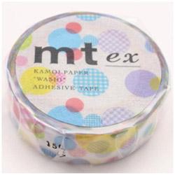 mt ex マスキングテープ(ランダムドット) MTEX1P108