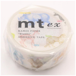 mt ex マスキングテープ(animals) MTEX1P111