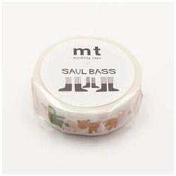 mtマスキングテープ ×アーティストシリーズ ソール・バス ANIMALS MTSAUL01