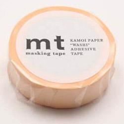 mtマスキングテープ 1P パステルオレンジ MT01P302