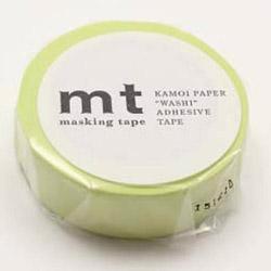 mtマスキングテープ 1P パステルライム MT01P310