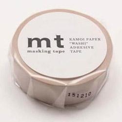 mtマスキングテープ 1P パステルブラウン MT01P311