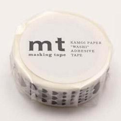 mtマスキングテープ 1P ハート・スケール MT01D329