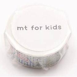 mtマスキングテープ for kids 紐絵 MT01KID025