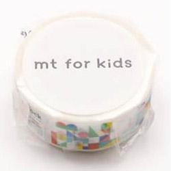 mtマスキングテープ for kids 積み木 MT01KID026