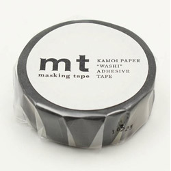 mt 1P ゆらぎタイル・黒 MT01D341