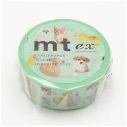 mt マスキングテープ mt ex baby animals MTEX1P129