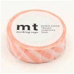 mt マスキングテープ mt 1P ストライプ・サーモンピンク MT01D370