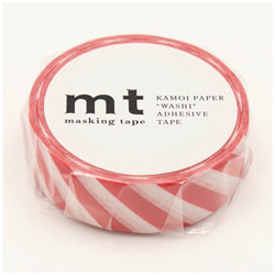 mt マスキングテープ mt 1P ストライプ・レッド MT01D371