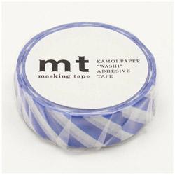 mt マスキングテープ mt 1P ストライプ・ブルー MT01D375