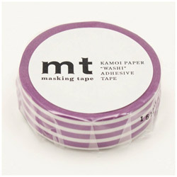 mt マスキングテープ mt 1P ボーダー・ぶどう MT01D387