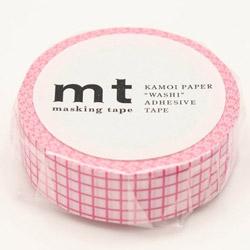 mt マスキングテープ mt 1P 方眼・ベリームース MT01D402