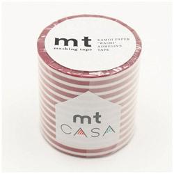 mt CASA 50mm(ボーダー・いちご) MTCA5108