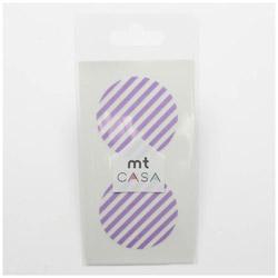 mt CASA seal(CASAシール) (ストライプ・ライラック) MTCDS025