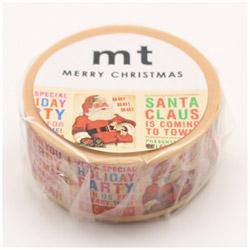 mt マスキングテープ クリスマス2017 クリスマスニュース MTCMAS80