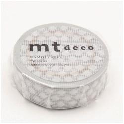 mtマスキングテープ 1P方眼ドット(グレー) MT01D406