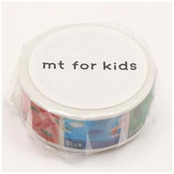 mtマスキングテープ キッズ・いろ MT01KID028