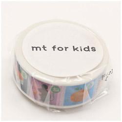mtマスキングテープ キッズ・しりとり MT01KID029