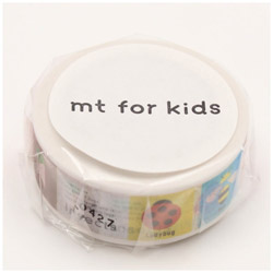 mtマスキングテープ キッズ・こんちゅう MT01KID030