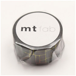mtマスキングテープ mt fab 黒板・カラフル MTBB006